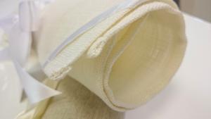 White table mats 30x45 cm