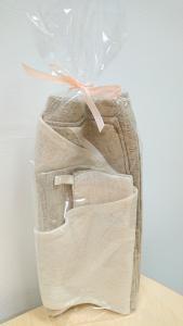 Natural/white Lanium gift set